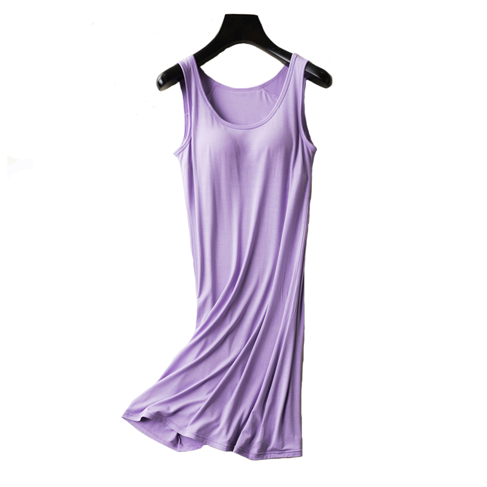 82479bdc6e finest selection 1c2e1 1a781 womens modal built bra camisole shelf bra  spaghetti straps tank nightdress black s tag