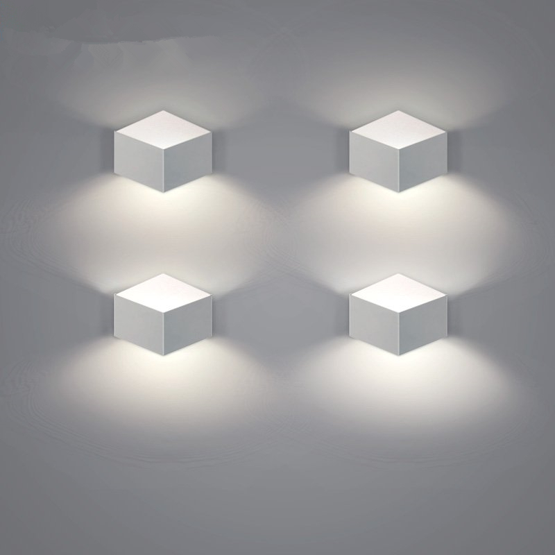 Aliexpress.com : Buy White Iron Arts Wall Decorations Living Room Modern Led Wall Light Fixtures ...