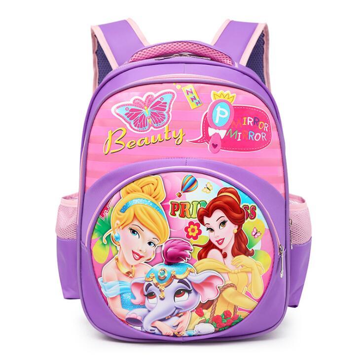 New School Backpacks For Children Nylon Girls Princess School Bag Waterproof Kids Satchel Girl Schoolbag Mochila Escolar