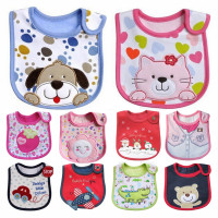 24 Carter Bibs Baby Slobber Towel Cotton Embroidered Bib Taobao Explosion Models All Embroidery Patterns