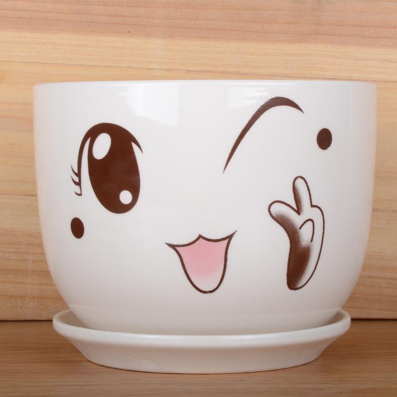 Online buy wholesale plant pot designs from china plant for Flower pots design images