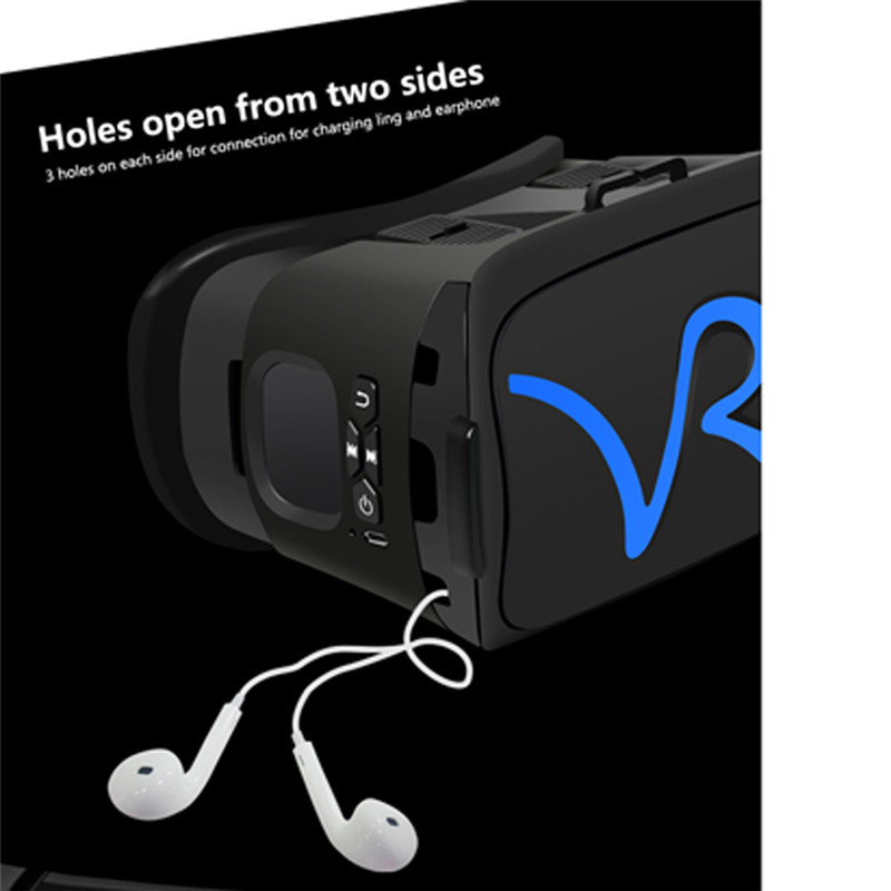 "3D VR Headset Virtual Reality Glasses VR Case All In One For 4.0""-5.8"" iPhone Samsung Moto LG Nexus HTC Wholesale 15"