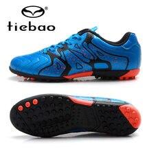 TIEBAO botas de fútbol para Hombre Zapatos de fútbol profesional 2018  adolescentes deportes TF Turf Soles zapatillas Chuteira Fu. 272e0c785193e