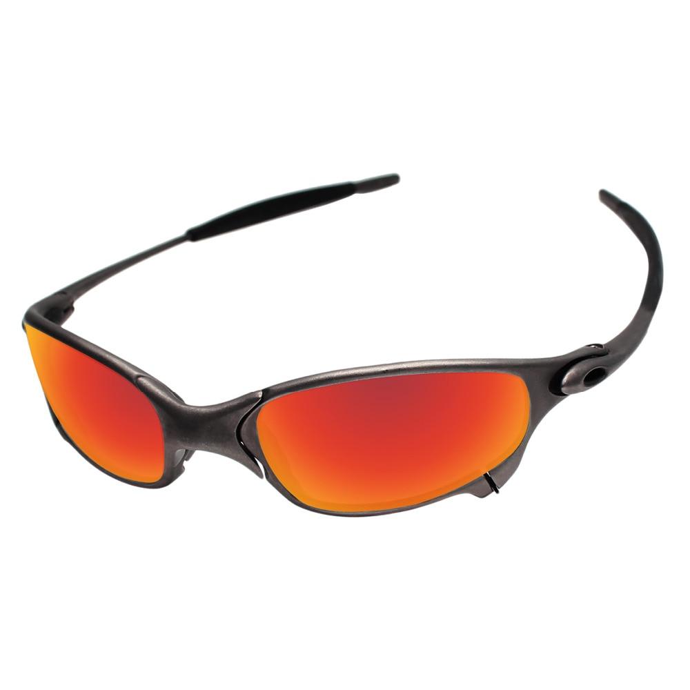 f69405348 Policarbonato Fire Red Lentes de Reposição Para O Juliet Sunglasses Quadro  100% UVA & Uvb em Acessórios de Acessórios de vestuário no AliExpress.com  ...