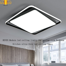 REVEN Modern led ceiling lights for Living room Bedroom Kitchen ultra-thin lamps