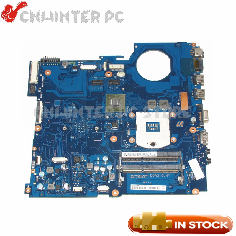 NOKOTION BA92-08186A BA92-08186A BA41-01608A For Samsung RV520 Laptop Motherboard HM65 DDR3 GT520M Video card 1GB