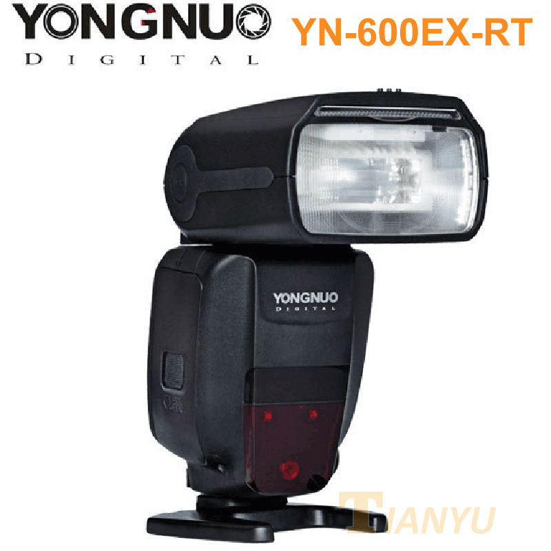 High quality YONGNUO YN600EX-RT 2.4G Wireless HSS 1/8000s Master Flash Speedlite for Canon Camera as 600EX-RT YN600EX RT yongnuo yn e3 rt flash speedlite transmitter suit for canon 600ex rt as st e3 rt