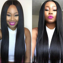 best peruvian virgin hair straight 400g black 1b human Hair Bundles 7a peruvian  virgin hair straight 4 bundles 100 human hair