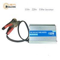 BOGUANG 150W Mini Portable Pure Sine Wave Power Solar Panel Inverter Grid DC 12V To AC