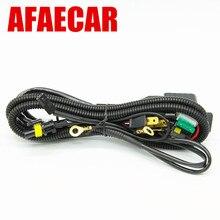 AFAECAR 12 v 35 watt 55 watt Bi xenon H4 Kabelbaum relais für Auto Scheinwerfer kabel