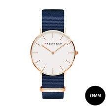 0b5af5d04c7 Nazeyt assistir mulheres nylon Midnight blue estilo DW relógios promoção  novas senhoras presente quartz relógio de pulso reloj m.