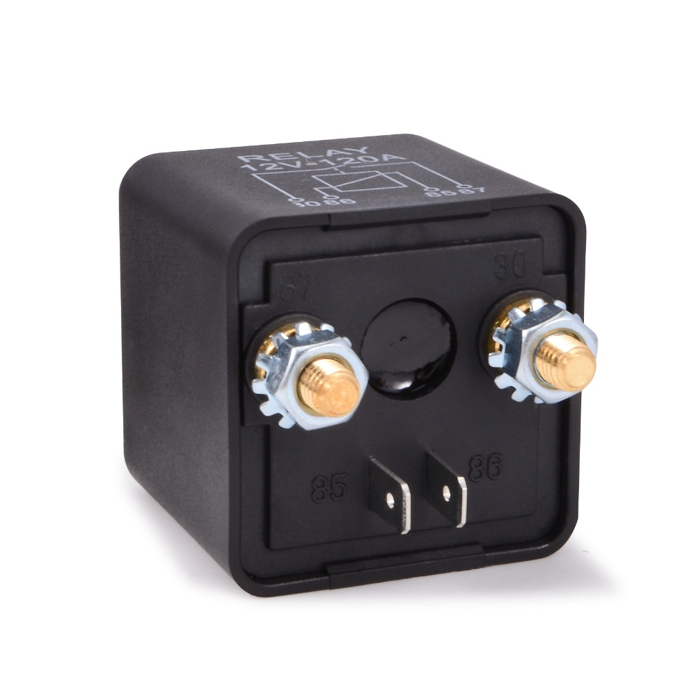Kh 12v 24v 120a Car Battery Switch Truck Motor On Off Botton Relay 5 Pin Footprint Switches Automotive Starter Relays 2 Terminal In From