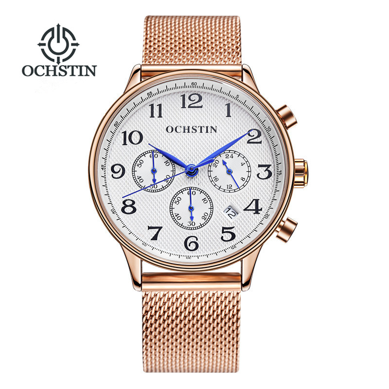OCHSTIN Fashion Chronograph Sport Mens Watches Top Brand Luxury Military Quartz Watch Male Clock Reloj Hombre Relogio Masculino xinge top brand luxury leather strap military watches male sport clock business 2017 quartz men fashion wrist watches xg1080