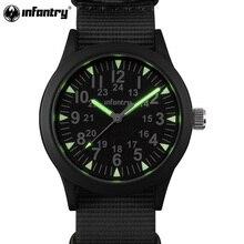 Армейские часы для мужчин, светящиеся в темноте, мужские часы, Топ бренд, Роскошные наручные часы, армейские, спортивные, нейлоновые, с ремешком, мужские часы
