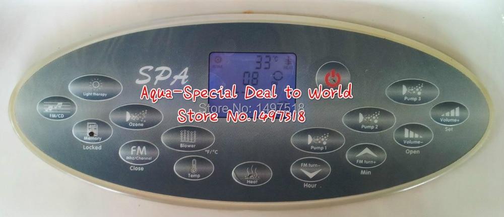 Горячая ванна набор для спа блок управления Замена подходит Jazzi Escape spa, спа Передняя запасная часть хорошо джакузи