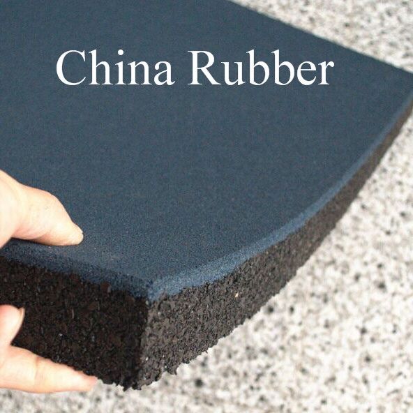European En1177 Quality Rubber Floor Cheap Price 500x500mmx40mm