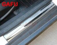 Para 2005-2016 Ford Focus 2 Focus 3 Mk3 Peitoril Da Porta Guardas Placa de chinelo de Porta Soleiras Protetor Tira Adesivos Acessórios Do Carro adesivo