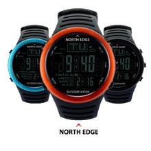 NORTH EDGE Fishing Altimeter Barometer Thermometer Altitude Men font b Smart b font Digital Watches Sports