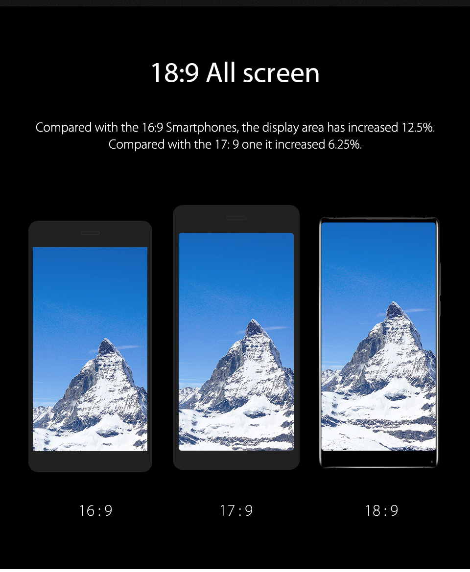 Vernee Mix 2 Mobile Phone 4GB6GB 64GB 6.0 Phablet 189 Android 7.0 Phone Octa Core Smartphone 13MP MTK6757 2.5GHz Cellphone 01 055