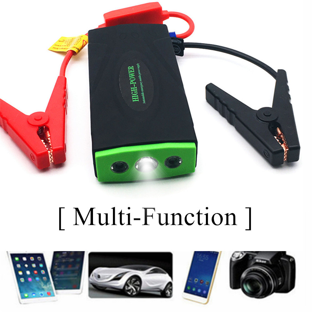 High Power Petrol Diesel Car Jump Starter Power Bank 600A Portable Car Charger For Car Battery Booster 12V Auto Starting Device car jump starter 600a portable starting device lighter power bank 12v charger for car battery booster starting petrol diesel ce