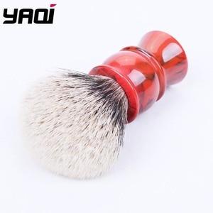 Image 3 - Yaqi 24MM Zwei Band Dachs Haar Rasierpinsel