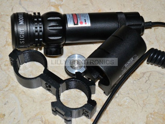 Scope-808-100-GD 808nm 100 mw Infrared IR Dot Visão Laser Gun/Rifle Scope