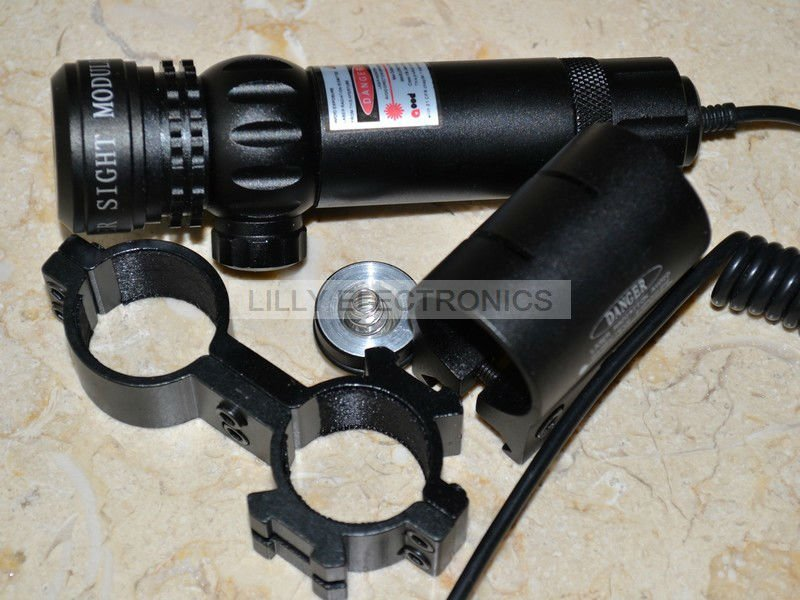 Scope-808-100-GD 808nm 100mw Infrared IR Dot Laser Sight Gun/Rifle Scope yp 808