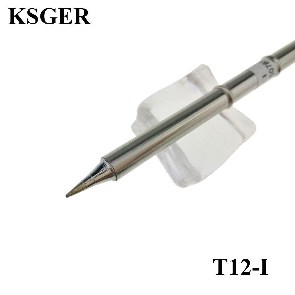 KSGER T12-I Electronic Soldering Iron T12 Solder Tips 220v 70W For FX-950/FX-951 Soldering Station FM-2028 9501 Soldering Handle