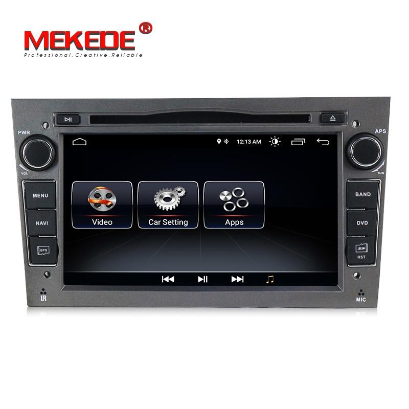 2DIN Android8.0 HD écran 1024*600 lecteur multimédia De Voiture pour Opel Astra Vectra Antara Zafira Corsa avec radio gps dvd lecteur