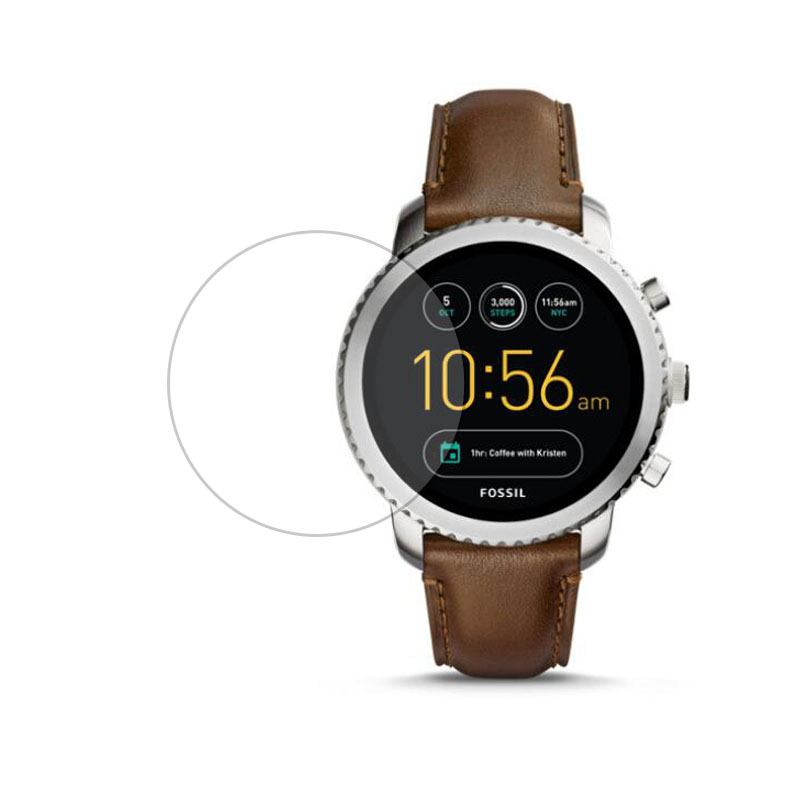 Tempered Glass Protective Film Ultra Clear Guard For Fossil Q Explorist Gen 3 Ge