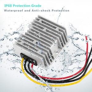 Image 4 - Dc 8V 40V Naar Dc 12V 10A 120W Stabilisator Voeding Converter Booster Buck Transformator regulator Step Up Down Voltage Module