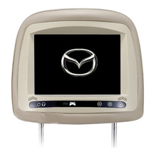 1pair Touch button 7″ car headrest monitor player with HD digital screen for mazda cx5 mazda 6 mazda 5
