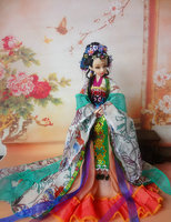 High End Handmad 30cm Chinese Costume Dolls ZIXUAN 12 Jointed Moveable Princess Doll Limited Collection Girls