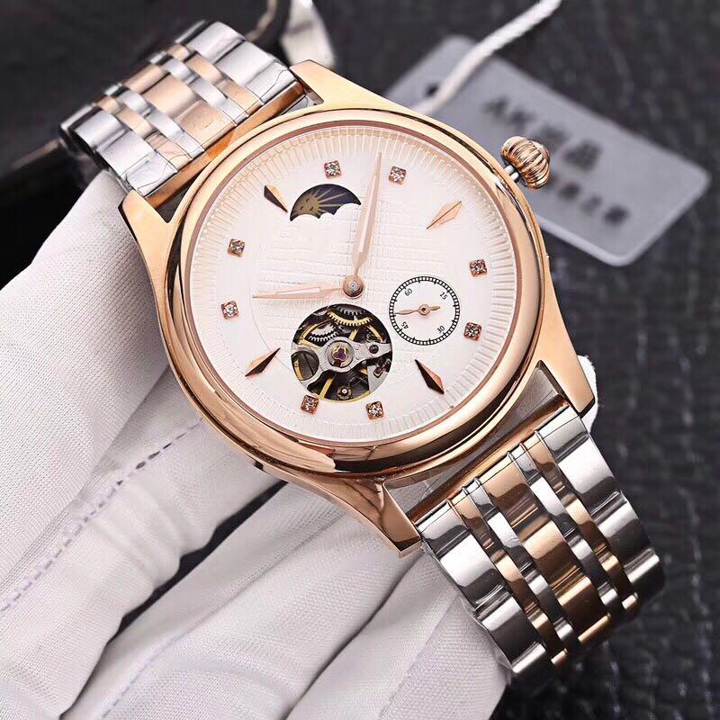 лучшая цена WC08162 Mens Watches Top Brand Runway Luxury European Design Automatic Mechanical Watch