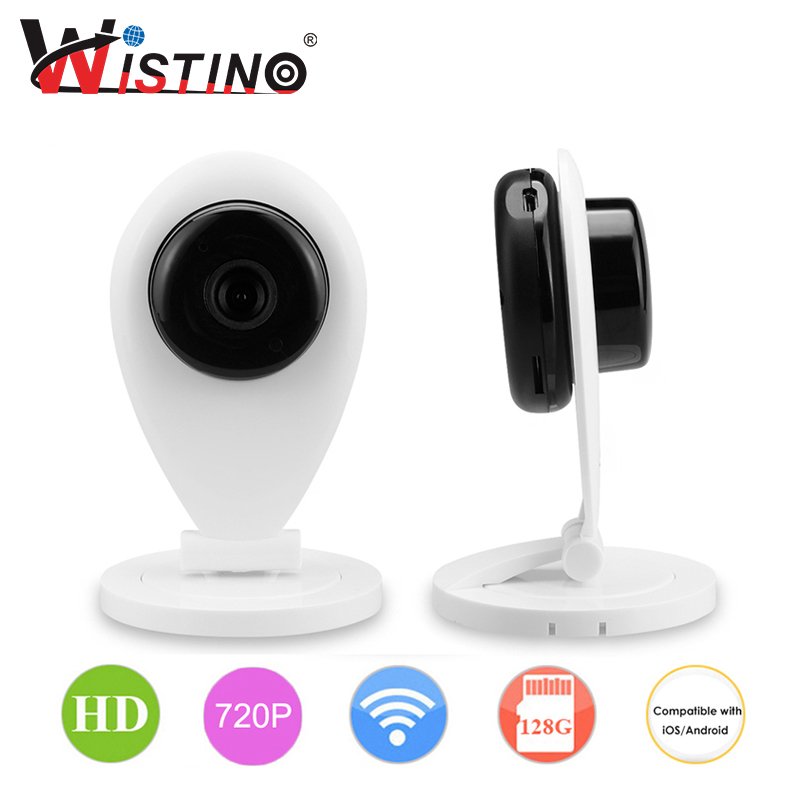 Wistino CCTV Wi-Fi Security IP Camera IR Night Vision Wifi Camera Indoor HD 720P CCTV Baby Monitor Smart Home Surveillance P2P wifi ip camera indoor bulb light camera home security cctv surveillance micro camera 720p 1080p mini smart night vision hd cam page 5