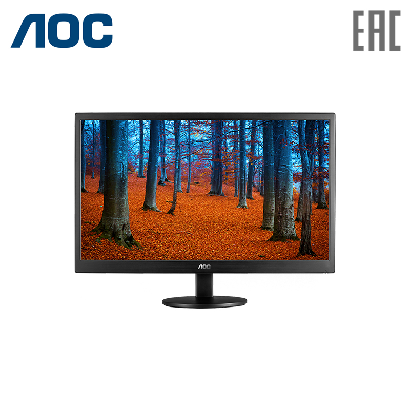Monitor AOC 18.5 E970SWN Black computer display monitor 19