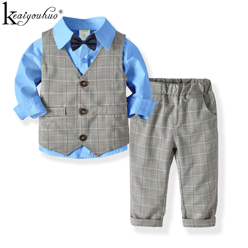 New Kids Clothes Sets Boys Clothes Autumn Children Clothing Outfits Suit Long Sleeve Boys Gentleman Suits For 1 2 3 4 5 6 YearsNew Kids Clothes Sets Boys Clothes Autumn Children Clothing Outfits Suit Long Sleeve Boys Gentleman Suits For 1 2 3 4 5 6 Years