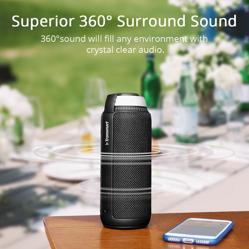 Tronsmart Élément T6 Bluetooth Haut-Parleur 25 w Portable Haut-Parleur avec 360 Stéréo Son Soundbar Colonne pour La Musique MP3 Lecteur - 2
