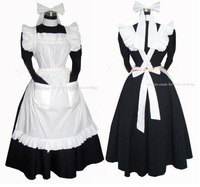 Sissy Maid Dress Lockable Cosplay Costume Costumes Gothic Lolita Cosplay Custom Made Free Shipping