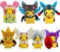 """Симпатичные Pokemon Slowpoke МЕГА Пикачу 9 """"Мягкие Плюшевые Мягкая Игрушка Кукла Подарок"""