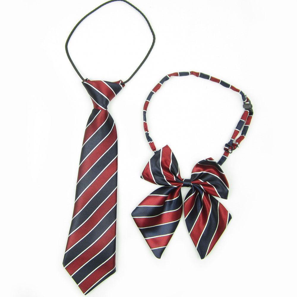 2fdf0b42f Mantieqingway Plaid Collar Flower Bow Neck Ties for Children Fashion ...