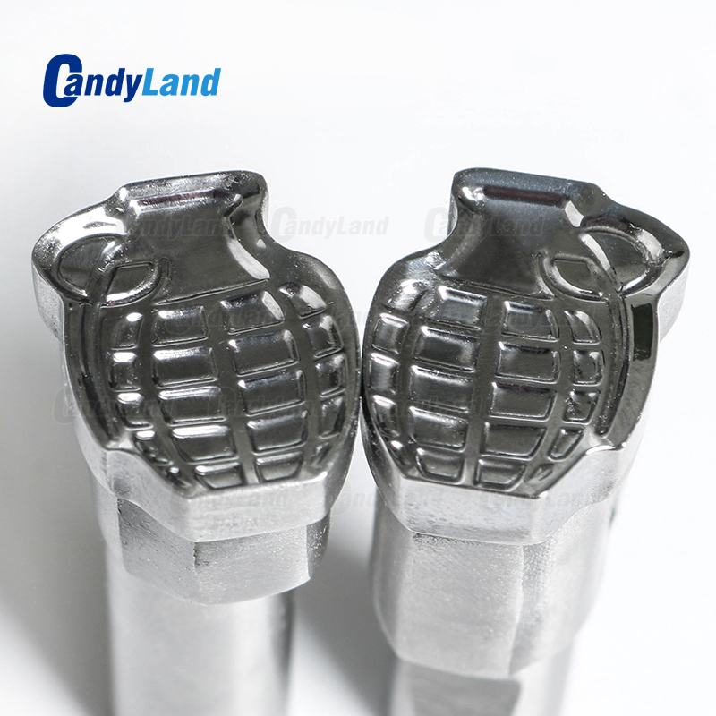 CandyLand Big Bomb Milk Tablet Die 3D Pill Press Mold Candy Punching Die Calcium Tablet Punch Die For TDP1.5 Machine