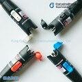 10 UNID Envío Libre FTTH óptica VFL 30 mW láser Pluma 30 km localizador visual de fallos de fibra óptica, cable de Prueba de fibra óptica Láser 650nm