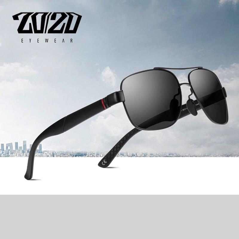 20/20 Marke Design Klassische Polarisierte Männer Sonnenbrille Brille Angeln Fahren Beschichtung Metall Rahmen Männlichen Brillen Oculos Pl359 Farben Sind AuffäLlig
