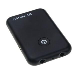 Image 2 - Kebidumei 2 w 1 bezprzewodowy Bluetooth V4.2 nadajnik odbiornik 3.5mm muzyka stereo Audio adapter do tv słuchawki głośnik