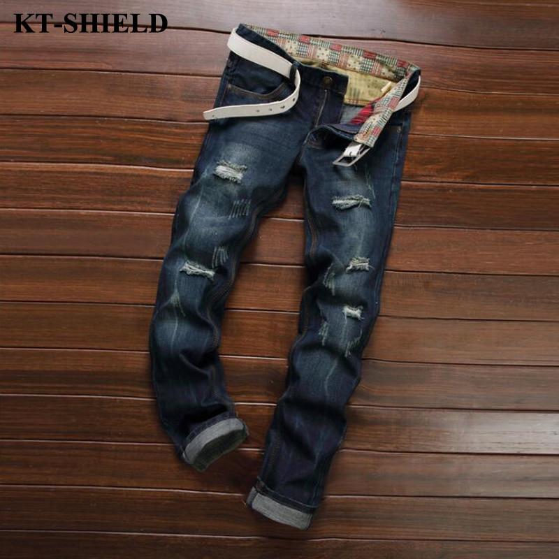 Ripped Men Jeans New Arrival Design Slim Fit Fashion Jeans For Men Biker Pantalones Pants Masculina