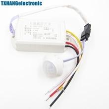 Hot 220V IR Infrared Body Motion Sensor Intelligent Lamp Motion Sensor Switch