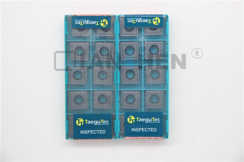 TaeguTec,10pcs/lot,Lathe tools,SPMG140512-DK TT6030 SPMG140512 DK TT6030,carbide insert, Face Mill Lathe Tools cutter CNC tool new bt40 m16 fmb22 45l trs8r 63 22 4t face end mill 10pcs 8r rdmx1604motn carbide insert cnc milling lathe