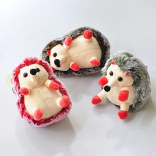 Candy Scent Hedgehog Plush Toys Kawaii Bag Backpack Pendant Keychain Stuffed Animals Kids Toys for Children Birthday Gift Doll(China)