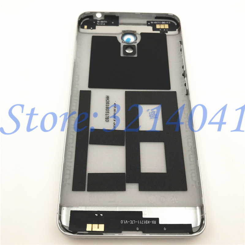 Image 2 - 5.2 inches For Meizu M6 m6 mini M711H M711Q Metal Battery Back Cover Replacement Parts Case+Buttons Camera Lens+side keys-in Mobile Phone Housings & Frames from Cellphones & Telecommunications on